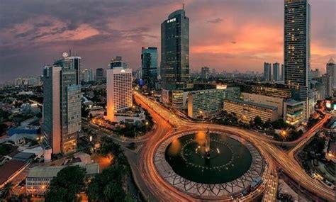 gambar kota jakarta  foto malam hari  atas tempo dulu lambang  jejakpiknikcom