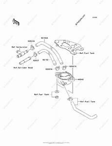 Kawasaki Atv 2007 Oem Parts Diagram For Fuel Pump
