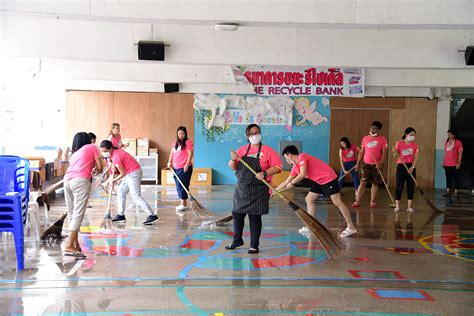 กิจกรรมรวมพลังชาวสาธิตจุฬาฯ ครบ 60 ปี Big Cleaning Day (ครั้งที่ 8) ประจำปีการศึกษา 2561 ...