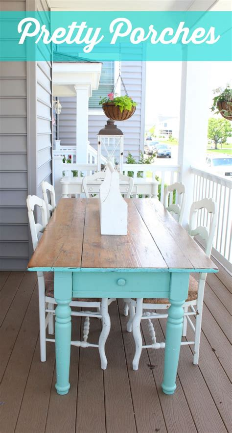 Front Porch Table by 10 Front Porch Decorating Ideas Screen Room Porch