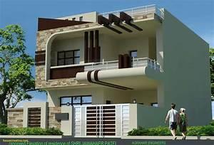 Unique, House, Front, Elevation, Design, Homedecoration