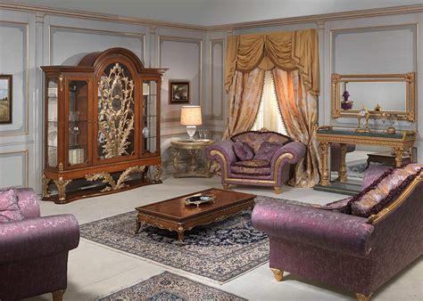 louis xvi style living room glass showcase sofa