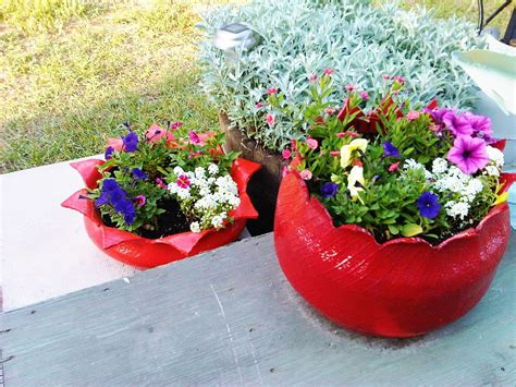 tire planters for hometalk create a flower planter from an tire
