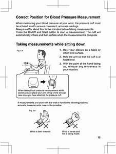 Correct Position For Biood Pressure Measurement  Taking