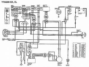 Yamaha Vino125s Wiring Diagram  58695