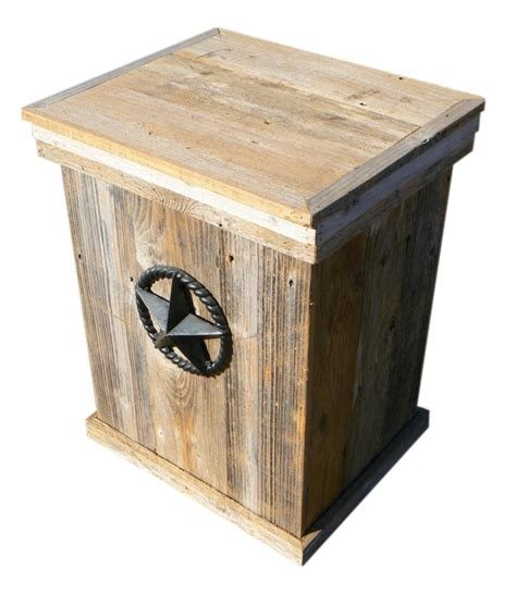 home products wood outdoor trash  propane acme nut