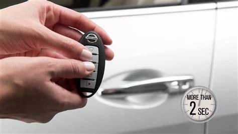 nissan maxima intelligent key  locking functions