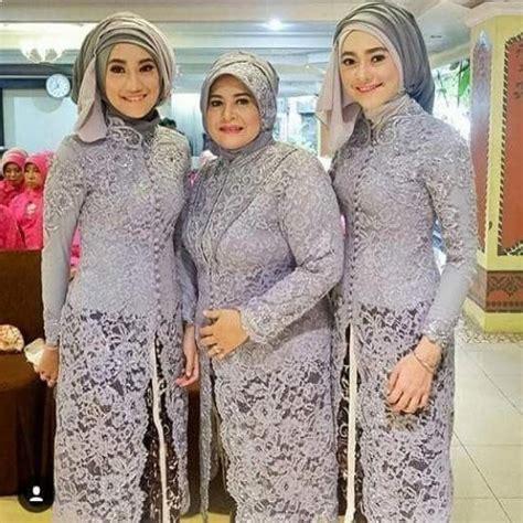 inspirasi model kebaya  modern muslim elegan