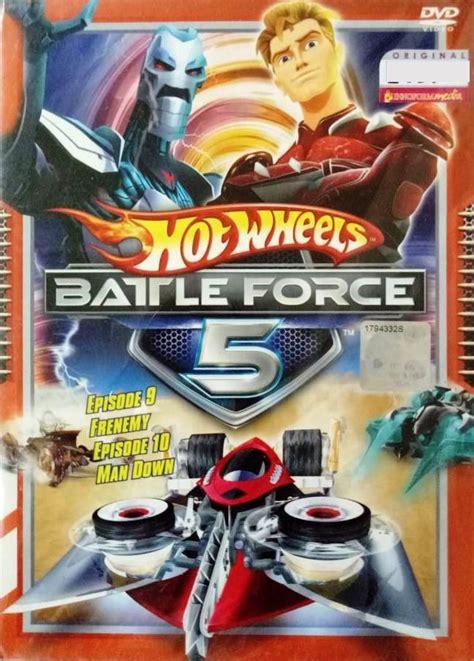 dvd hot wheels battle force 5 vol 9 and 10 anime region all english version english sub