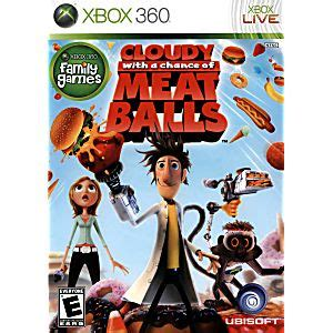 cloudy   chance  meatballs xbox  game