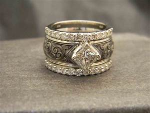 wedding rings pictures alsayegh good unique bands with With western engagement rings and wedding bands