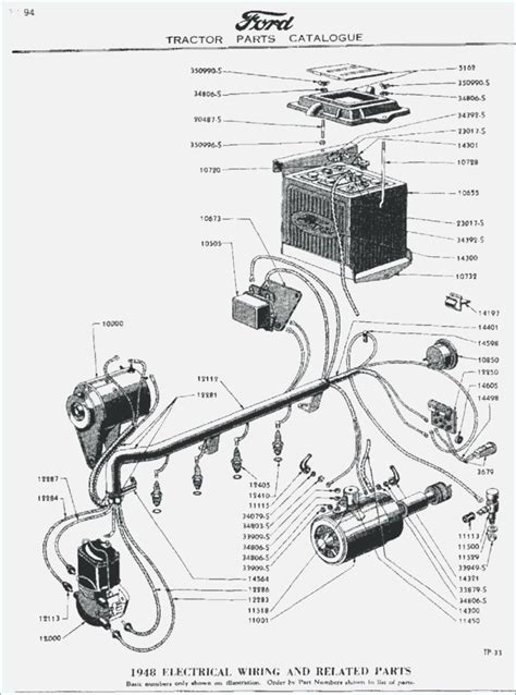 Ford Tractor Volt Wiring Diagram