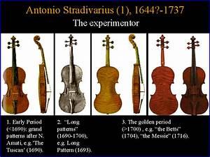 Antonio Stradivarius 1 1644 1737