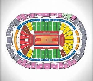 Spectrum Arena Seating Chart Seating Charts Pnc Arena