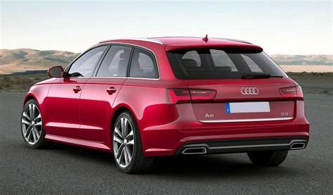 2019 Audi A6 Avant Review Roof Bars Box Spirotourscom