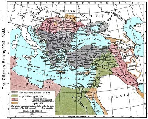 Ottoman Empire Map 1566 by The Ottoman Empire Maps