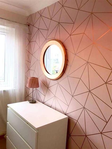 zara shimmer metallic wallpaper soft pink rose gold gold
