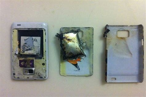 samsung phones blowing up samsung galaxy phone explodes leaving in need