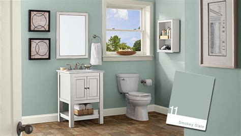 popular bathroom paint colors walls home decorating ideas