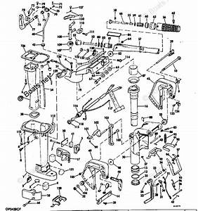 Evinrude Outboard Parts By Hp 15hp Oem Parts Diagram For