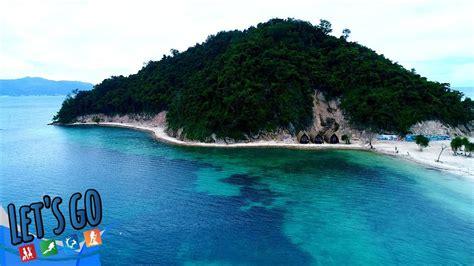 wisata terbaru  lampung pulau tegal mas lets