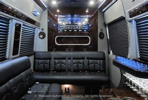 mercedes sprinter cer van luxury vans midwest automotive
