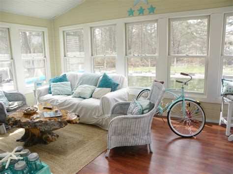 Creative Ocean Themed Living Room Decorating I 27271