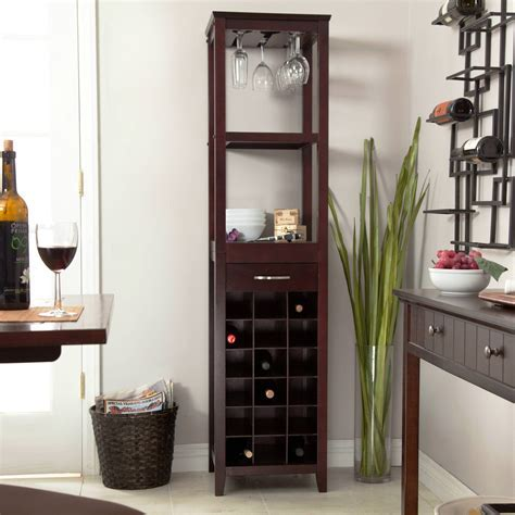 Furniture: Gorgeous Unique Bakers Rack With Wine Storage