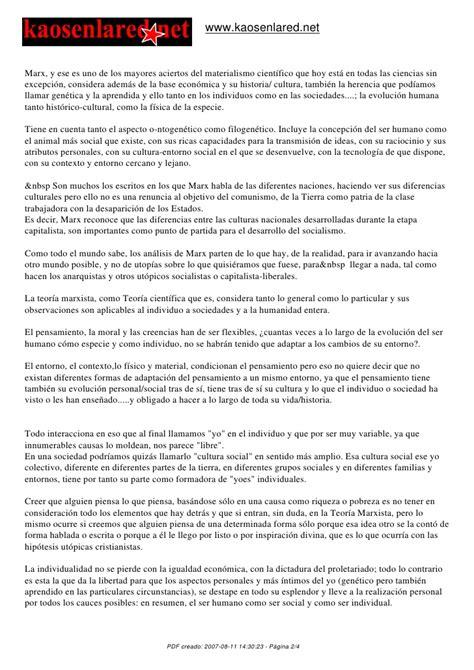 Animal Farm Resumen Corto by Materialismo Cient 237 Fico En Nuestra Sociedad Marxismo Y