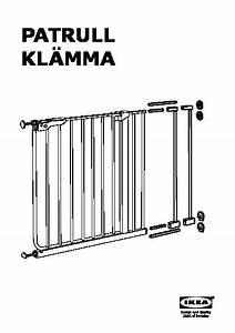 Barriere De Securite Escalier Ikea : patrull kl mma extension de barri re de s curit blanc ~ Dailycaller-alerts.com Idées de Décoration