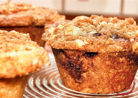 sour cream coffee cake muffins recipe   breads
