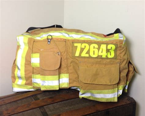 firefighter turnout gear fire bag bags bunker fighters into