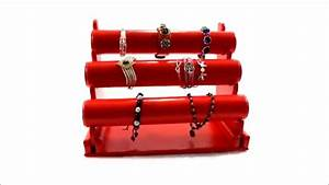 Support à Bijoux : pr sentoir bijoux avec joncs pour exposition rangement bracelets ou montres youtube ~ Teatrodelosmanantiales.com Idées de Décoration