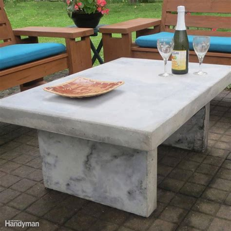faux marble table l 15 awesome plans for diy patio furniture page 2 of 20