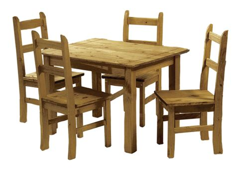 ecuador mexican pine dining table   chairs ebay