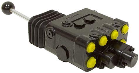 2 spool 14 gpm prince lvr joystick loader valve directional valves hydraulic valves