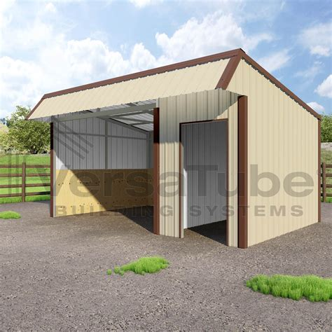 Loafing Shed Kits Kansas by Single Slope Loafing Shed 12 X 18 X 10 8 Barn Or