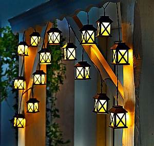 led lichterkette laterna jetzt bei weltbildde bestellen With französischer balkon mit lichterkette lampions garten
