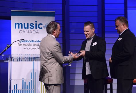 Music Canada President's Award Presented To
