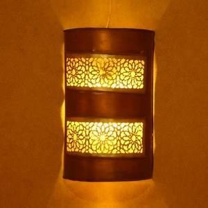 Applique Murale Cuivre : applique murale marocaine en m tal d 39 aspect cuivre rouge ~ Melissatoandfro.com Idées de Décoration