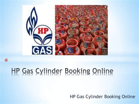 Hp Gas Booking by Hp Gas Cylinder Booking