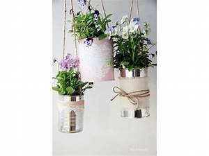 Bricolage Avec Objets De Récupération : des pots de fleurs avec des objets de r cup ration pour donner une touche d 39 originalit votre ~ Nature-et-papiers.com Idées de Décoration