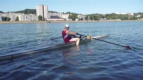 Skiff Aviron remonter sur un skiff club aviron vienne