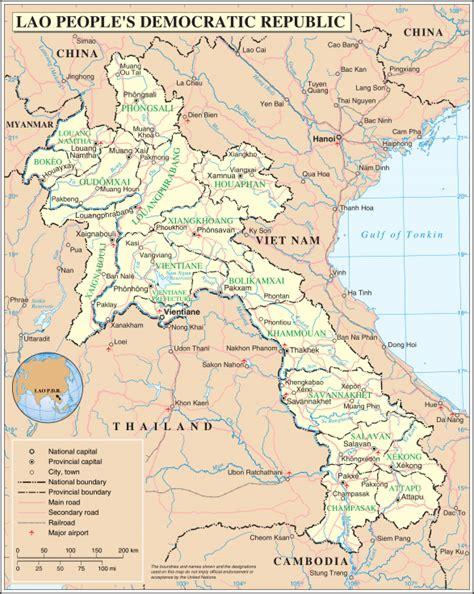 Ģeogrāfiskā karte - Laosa - 2,348 x 2,947 Pikselis - 2.18 ...