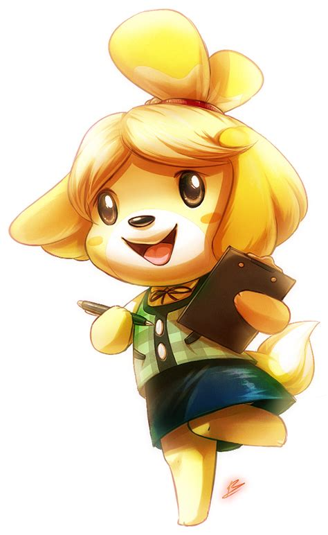 Isabelle Animal Crossing Wallpaper - isabelle by draggincat deviantart on deviantart