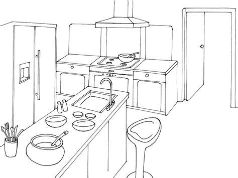 perspective cuisine dessin dessin d une cuisine 28 images cuisine dessin d une