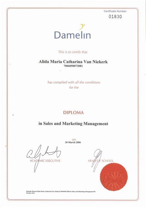 diploma of marketing diploma sales and marketing