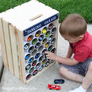 kita kinderzimmer diy wooden crate storage and display for wheels cars frugal for boys and