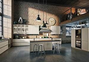 Meuble Cuisine Style Industriel : 1001 id es d co pour am nager une cuisine style industriel ~ Teatrodelosmanantiales.com Idées de Décoration
