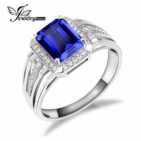aliexpress buy real brand italina rings for men hot aliexpress buy gem jewelry blue sapphire